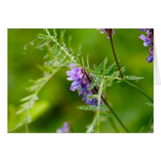 Flora en Manan magnífico Tarjeta De Felicitación