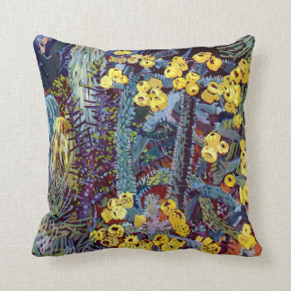 Flora exótica #10 en SunshineDazzle Cojín