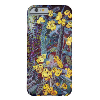 Flora exótica #10 en SunshineDazzle Funda De iPhone 6 Barely There