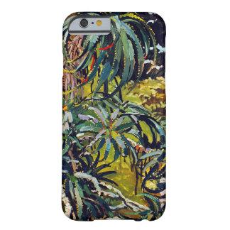 Flora exótica #12 en SunshineDazzle Funda De iPhone 6 Barely There