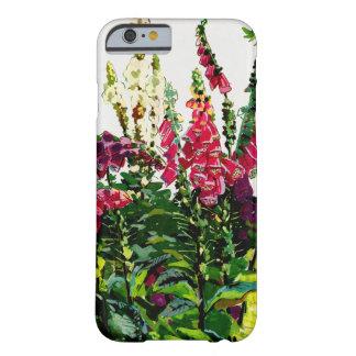 Flora exótica #1 en SunshineDazzle Funda De iPhone 6 Barely There