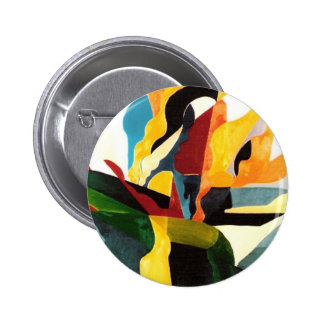 Flora & Fauna 2 Inch Round Button