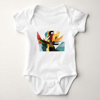 Flora & Fauna Baby Bodysuit