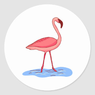 Flora Flamingo Stickers