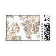 Flora Flourish by Ceci New York Postage Stamps