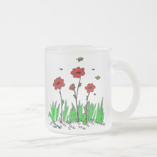 Flora in Grass Frosted Mug