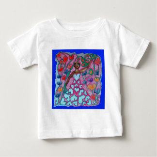 Flora in the Garden with Love Baby T-Shirt