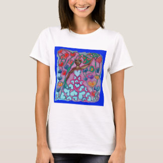 Flora in the Garden with Love T-Shirt