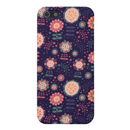 Flora iPhone 5 Carcasas