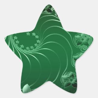 Flora Nature Color Star Sticker