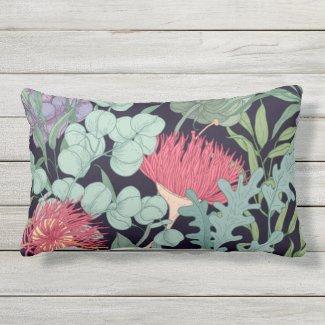 Flora of Australia Exotic Lumbar Pillow