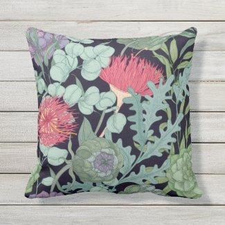 Flora of Australia Exotic Pillow 16x16