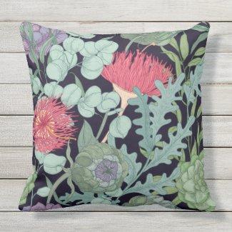 Flora of Australia Exotic Pillow 20x20