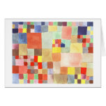 Flora on Sand by Paul Klee Greeting Card