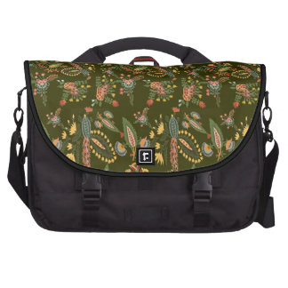 FLORA PATTERNS (LEAVES) BAGS FOR LAPTOP
