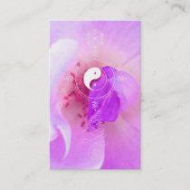 *~*  Flora Pink Fuchia Lavender Violet Rose Business Card