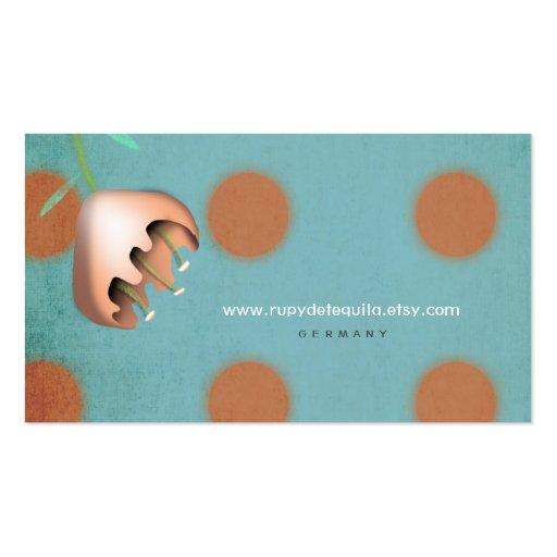 Flora Polka Dots Photoshop CS6 Designer Business C ...