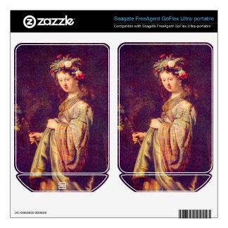 Flora (portrait of Saskia as Flora) by Rembrandt FreeAgent GoFlex Decals