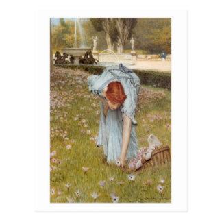 Flora - postal de sir Lawrence Alma-Tadema