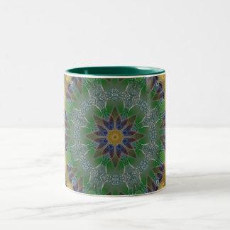 Flora Series Abstract Flower Coffee Mugs