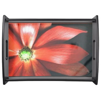 Flora Style Large Serving Tray