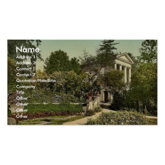 Flora Temple, park of Worlitz, Anhalt, Germany vin Double-Sided Standard Business Cards (Pack Of 100)