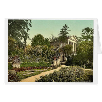 Flora Temple, park of Worlitz, Anhalt, Germany vin Greeting Card