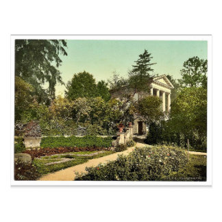 Flora Temple, park of Worlitz, Anhalt, Germany vin Postcard