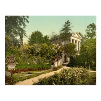 Flora Temple, Worlitz Park, Anhalt, Germany Postcard