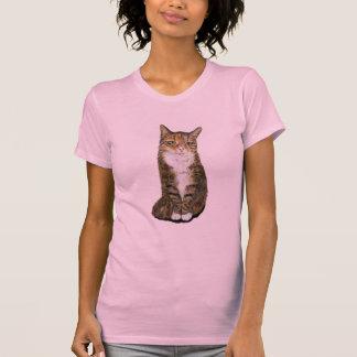 Flora the cat tee shirt