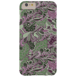 Flora y fauna Paisley Funda Barely There iPhone 6 Plus