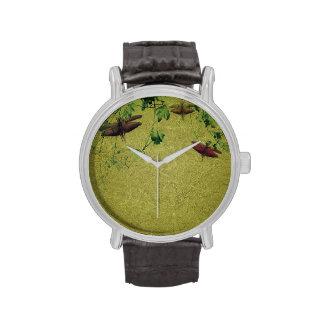 Flora y fauna relojes de mano