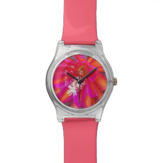 Floración de Epiphyte Relojes De Pulsera