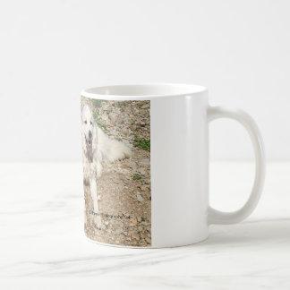 Floración de la amistad taza de café