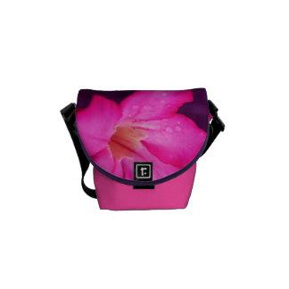Floración de la flor bolsa messenger