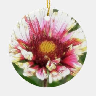 Floración de la flor combinada ornamento de reyes magos