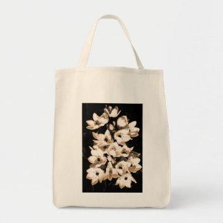 Floración de los lirios bolsa tela para la compra