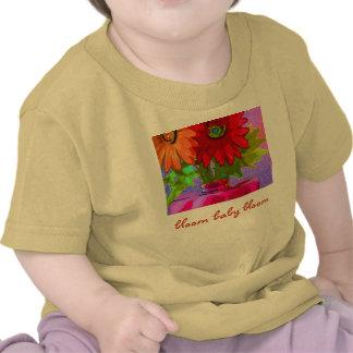 floración del bebé de la floración camiseta