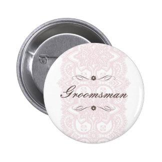 Floración del Padrino de boda-Vintage Pins