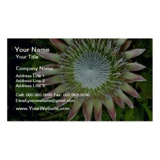 Floración del Protea - flores de Maui Plantillas De Tarjetas Personales