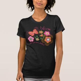 Floración donde le plantan camiseta