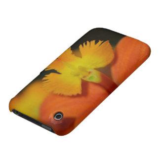 Floración enojada de la orquídea Case-Mate iPhone 3 coberturas