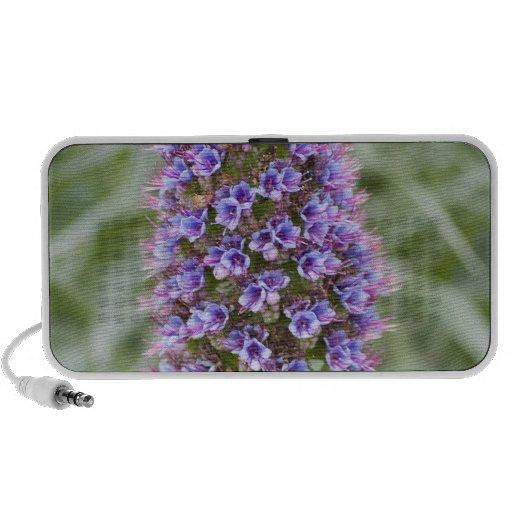 Floración estupenda iPod altavoz