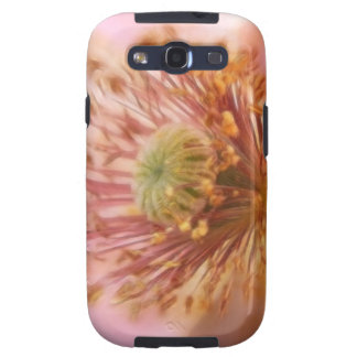 Floración frágil - amapola de la primavera galaxy SIII cárcasas