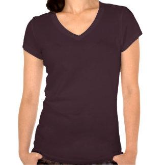 Floración púrpura del cactus camisetas