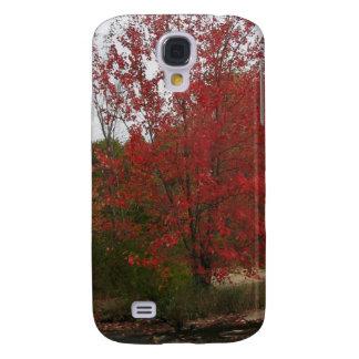Floración roja de CANADÁ Toronto - opiniones de la Funda Para Galaxy S4