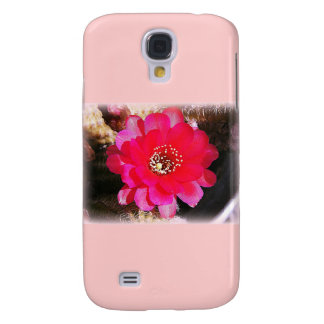 Floración rosada del cactus funda para galaxy s4