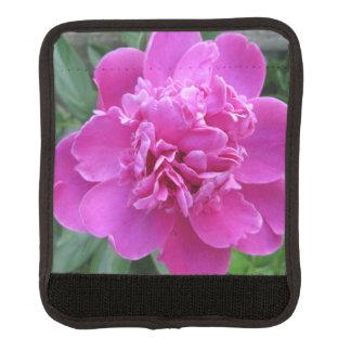 Floración rosada del Peony Funda Para Asa De Maleta