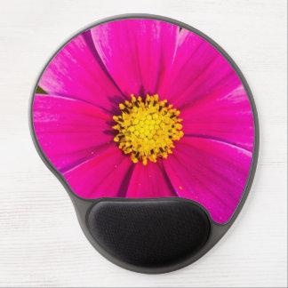 Floración rosada hermosa de la flor alfombrillas de raton con gel
