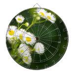 Floración salvaje en el viento tabla dardos